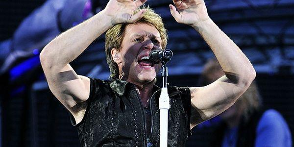 Bon Jovi - itt még a színpadon