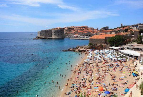 Dubrovnik látképe - illusztráció (Kép: www.vecernji.hr)