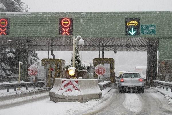Ismét havazott Horvátországban (Kép: www.24sata.hr)